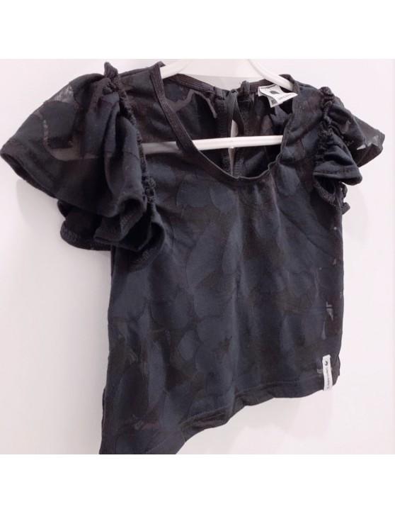 Cieniowana bluzeczka z falbankami